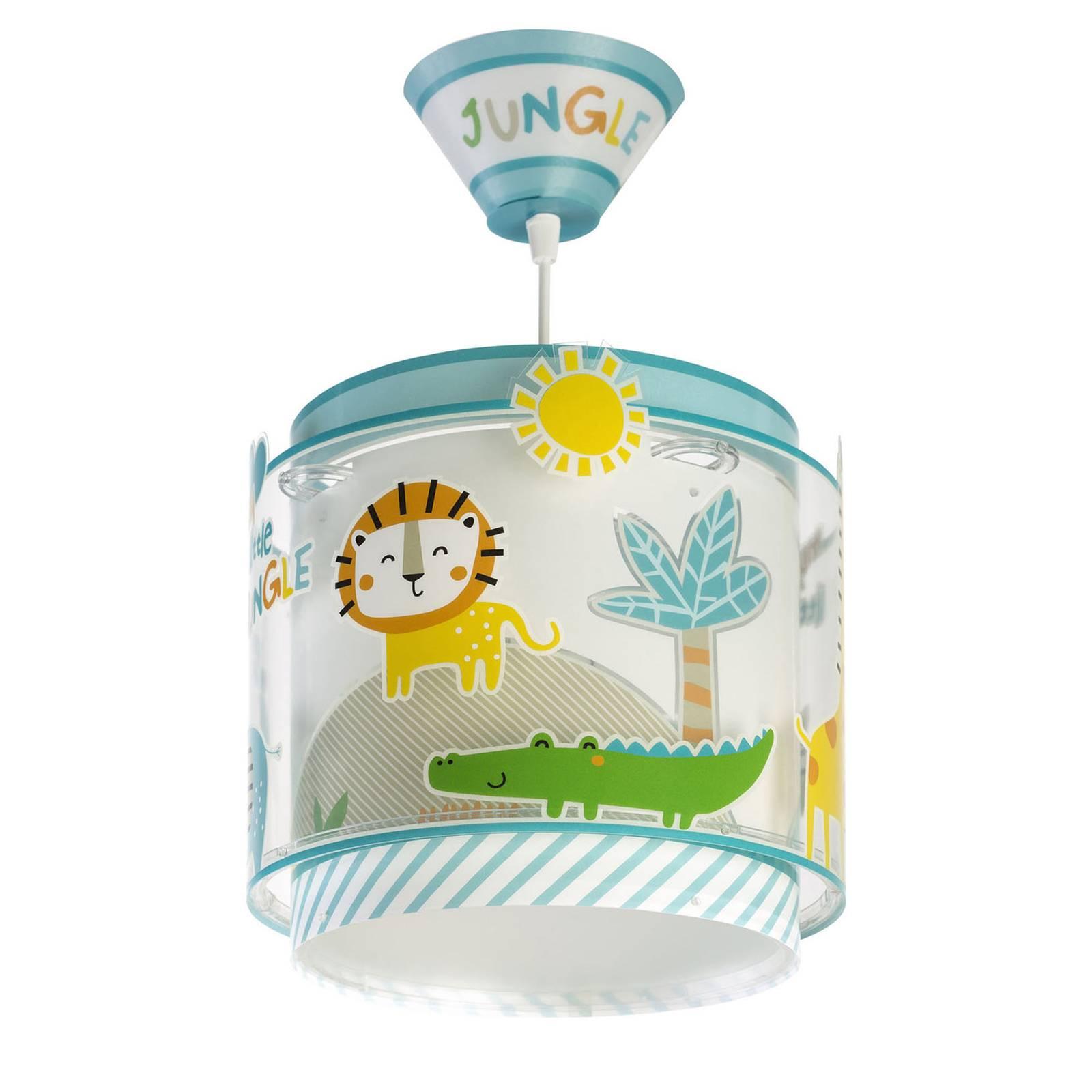 Lastenhuoneen riippuvalo Little Jungle, 1-lamp.
