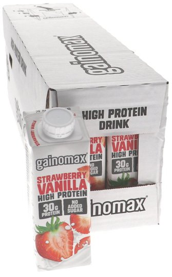 Proteiinijuomat Mansikka & Vanilja 16kpl - 22% alennus
