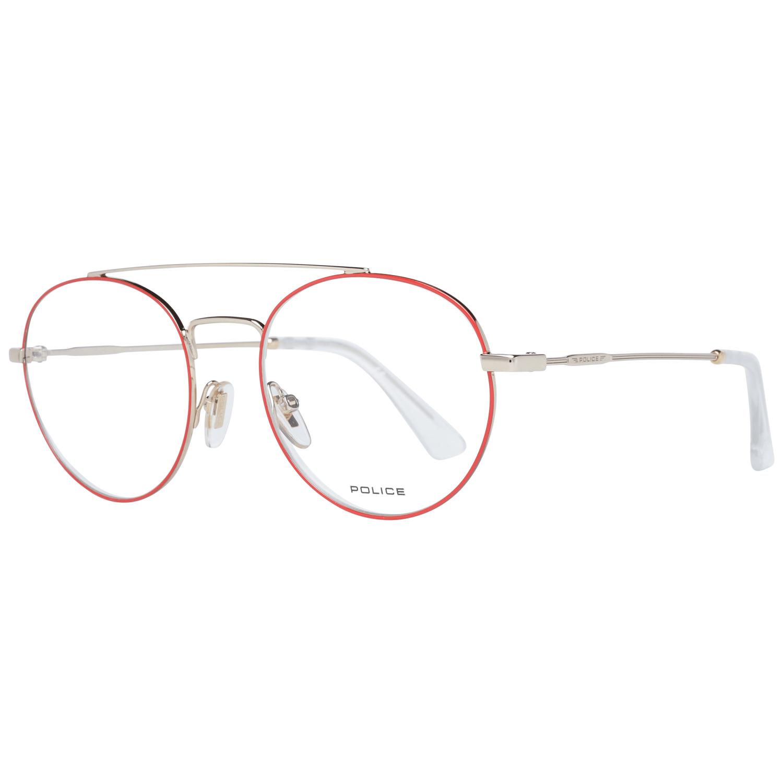 Police Men's Optical Frames Eyewear Red PL728 510357