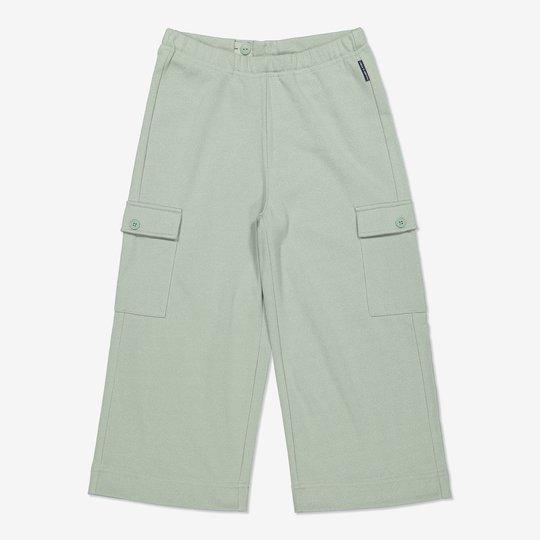 Glitrende bukse grønn