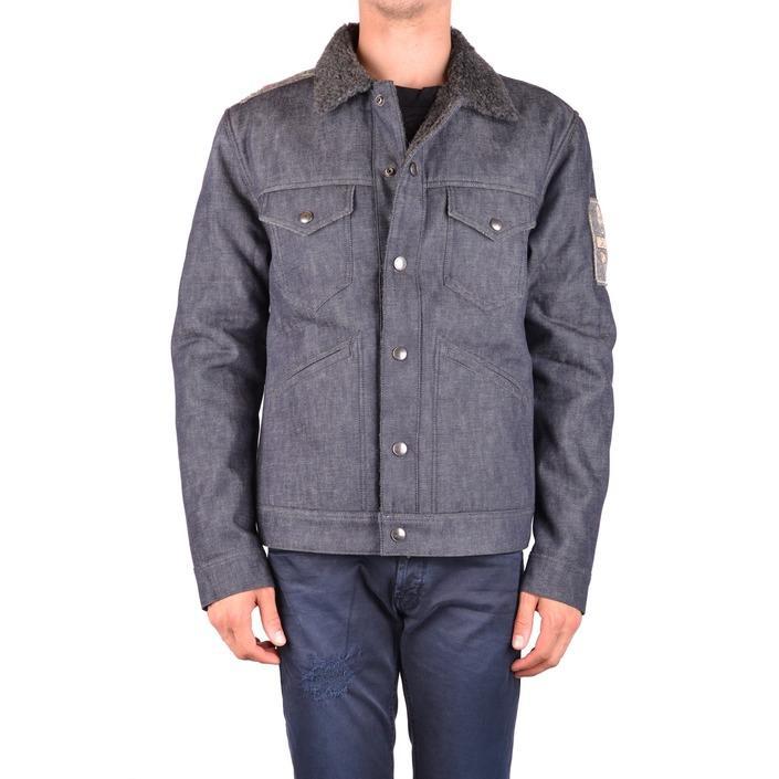 Jacob Cohen Men's Jacket Blue 163323 - blue L