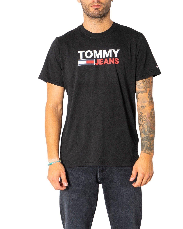 Tommy Hilfiger Jeans Men's T-Shirt Various Colours 304989 - black L