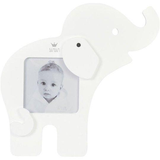 BamBam Fotoramme Elefant, Hvit