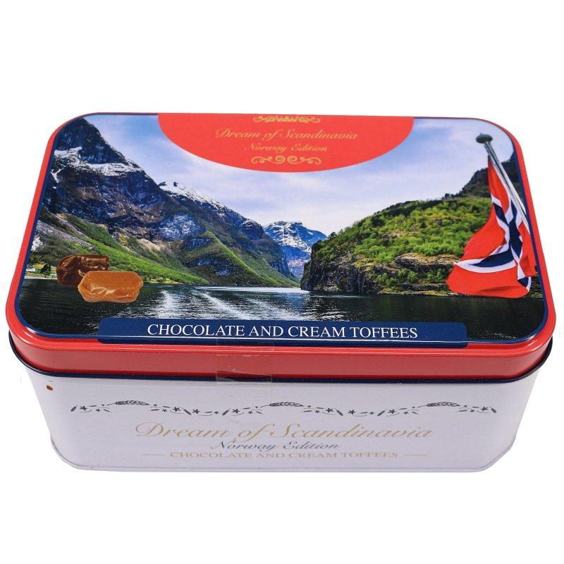 Choco & Cream Toffees Norway Edition Plåtburk - 46% rabatt