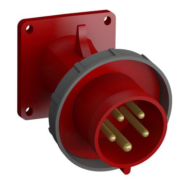 ABB 2CMA102343R1000 Panelinntak hurtigtilkoblet, vibrasjonsbestandig Vinklet, 5-polet, 16 A