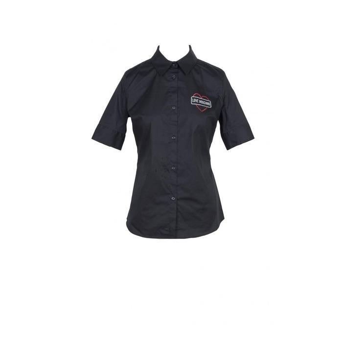 Love Moschino Women's Shirt Black 170368 - black 42