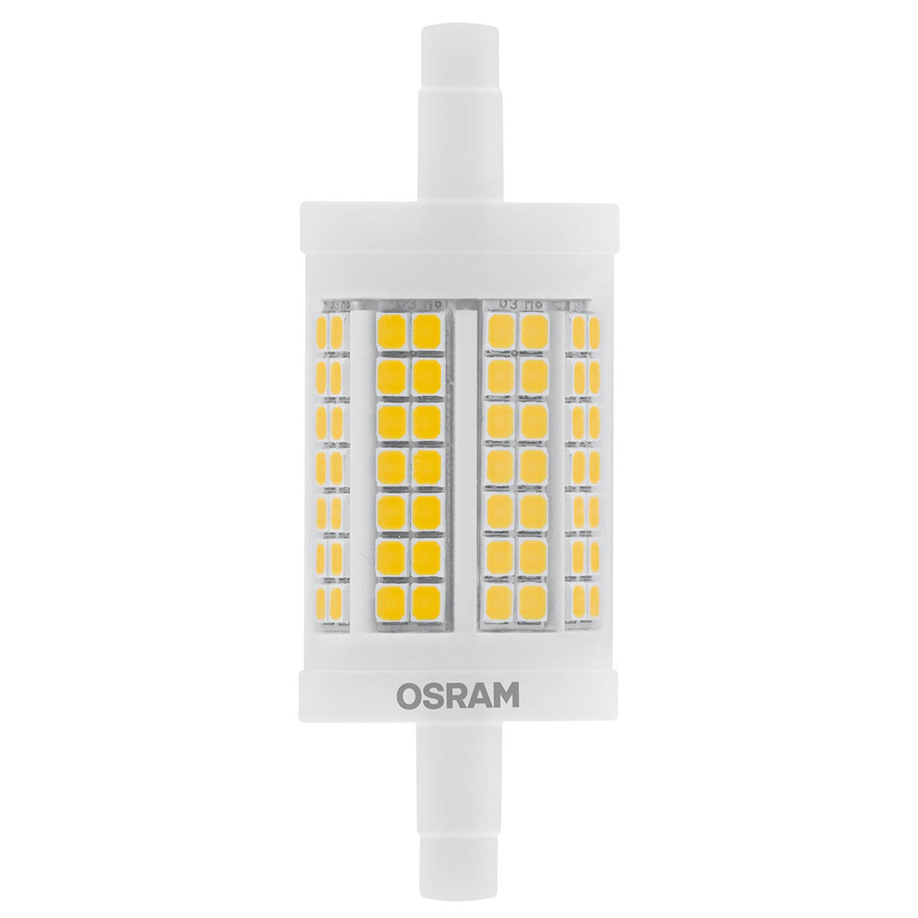 OSRAM-LED-putkilamppu R7s 11,5W 7,8cm 827 dim