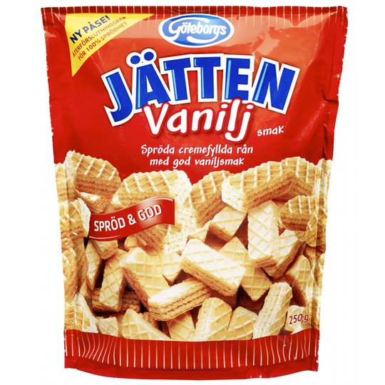 Kex Jätten Vanilj 250g - 21% rabatt