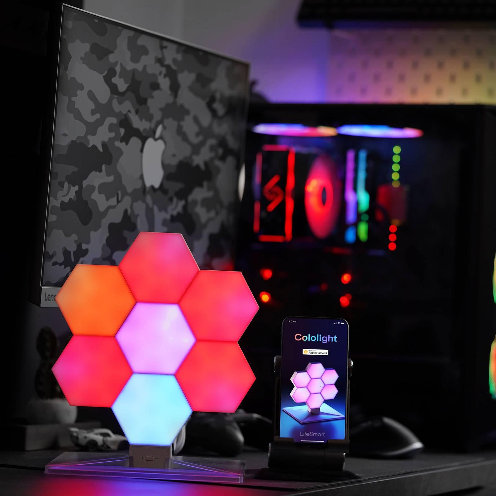 Cololight Plus Starter Set, 7 moduulia ja jalusta