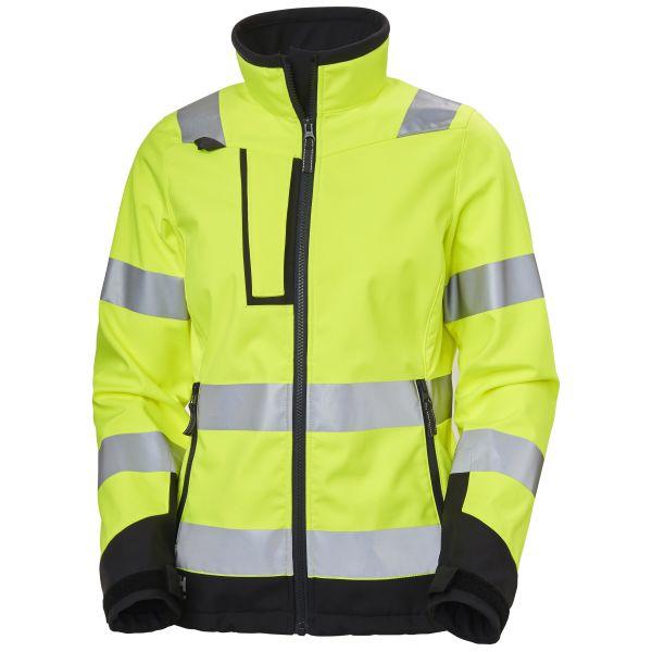 Helly Hansen Workwear Luna Softshelljacka varsel, gul XS