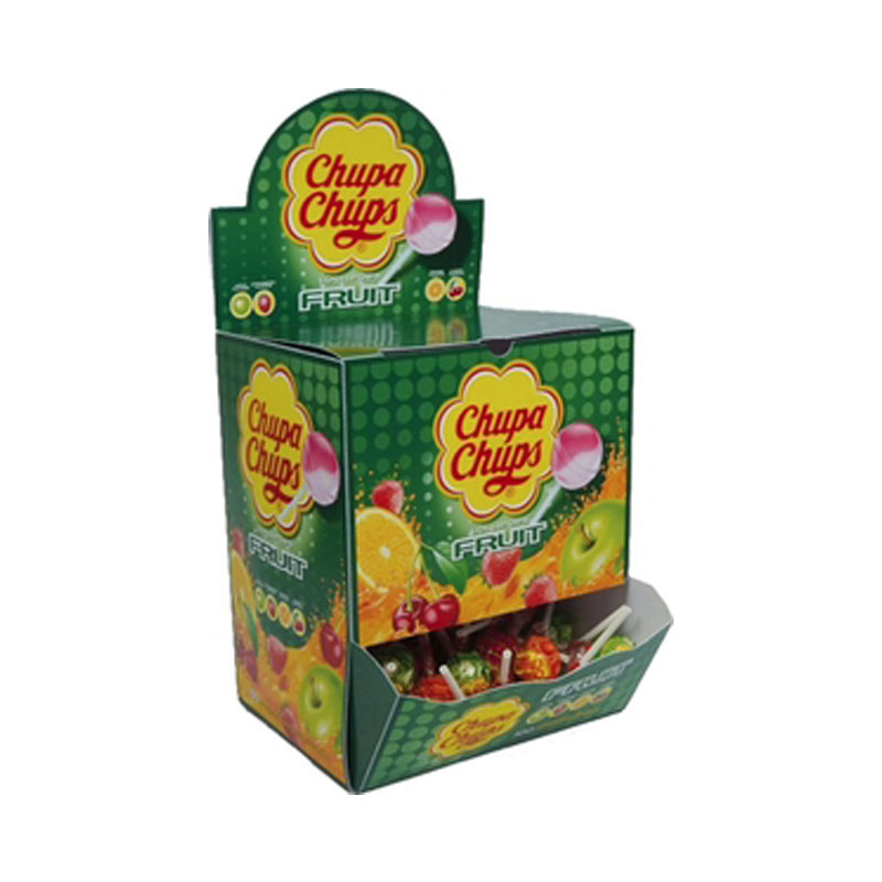 Hel Låda Godisklubbor Fruktsmak 1200g - 50% rabatt