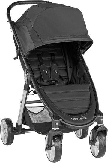 Baby Jogger 4 Wheel City Mini 2 Sportsvogn, Jet Black