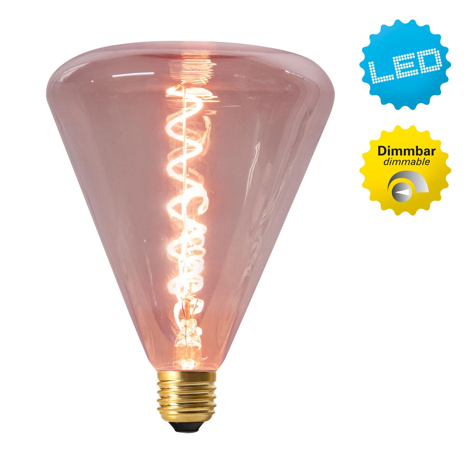 LED-globe-lamppu E27 4W 2 200 K, punainen sävy
