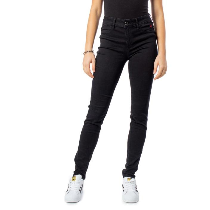 Desigual Women's Jeans Black 170117 - black W24