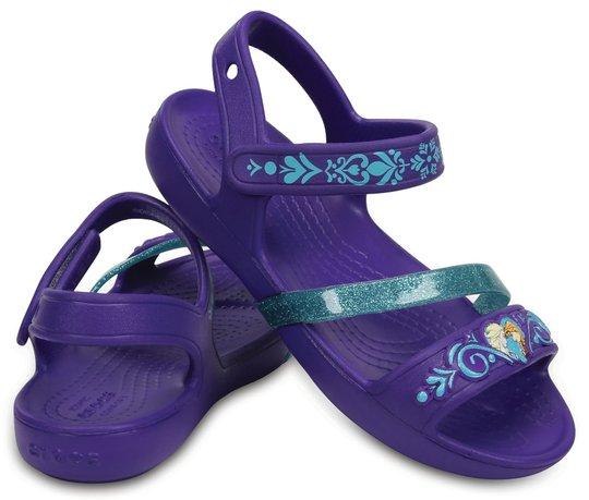 Crocs Frozen Lina Sandaler, Ultraviolet 19-20