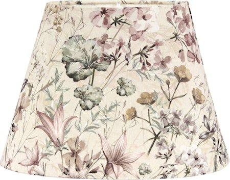 Oval Mønstret Flower Garden 20 cm