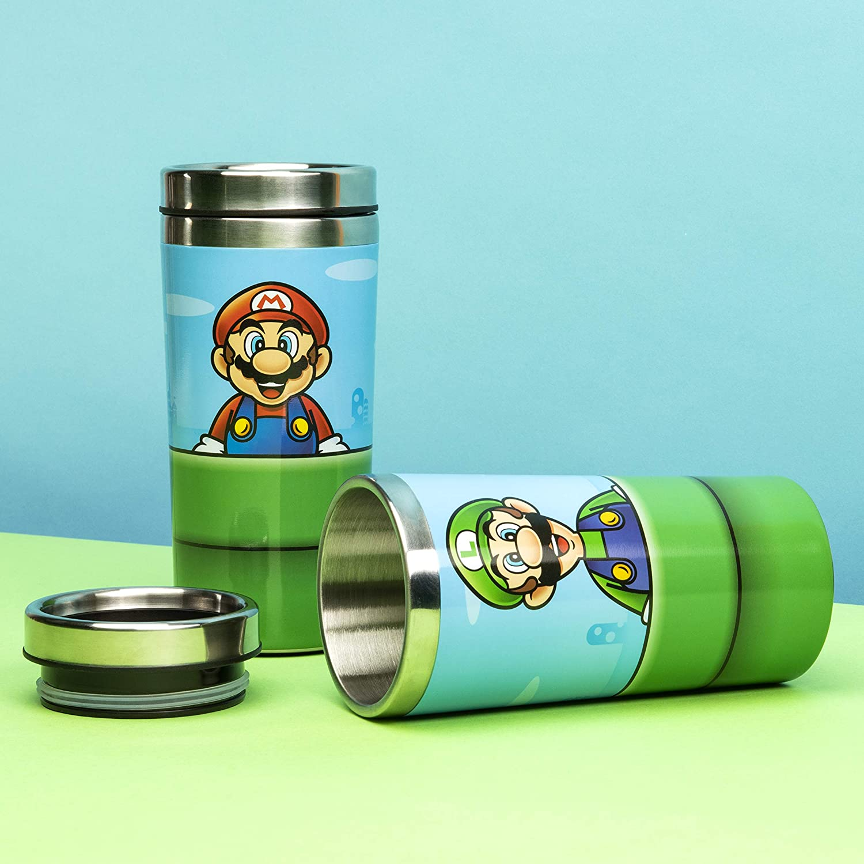 Nintendo - Super Mario Warp Pipe - Travel Mug (PP6349NN)