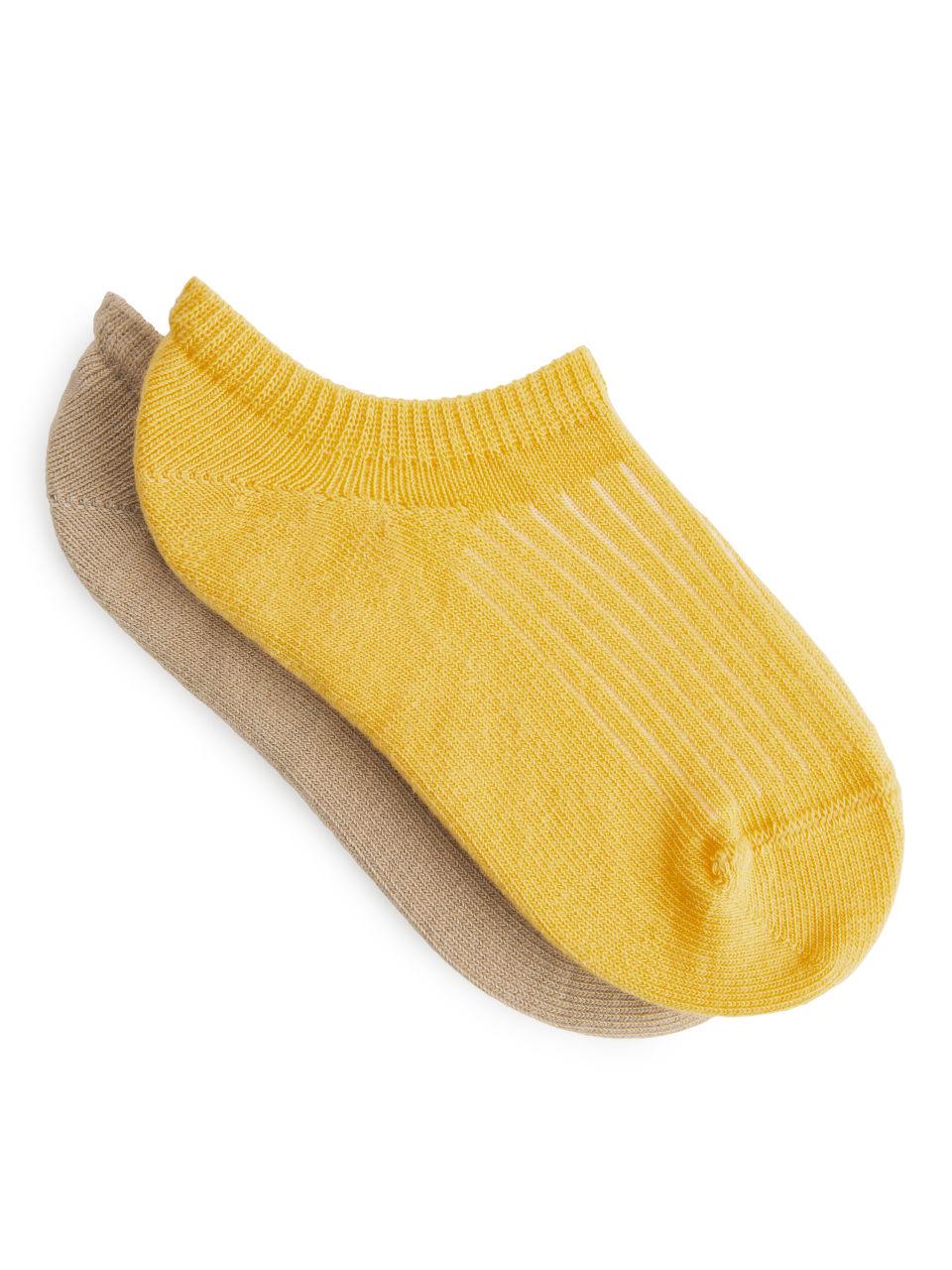 Sneaker Socks - Yellow
