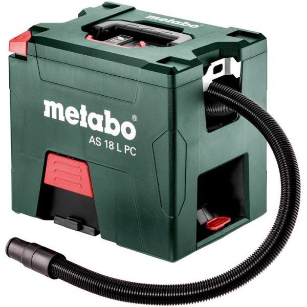 Metabo AS 18 L PC Støvsuger med batterier og lader