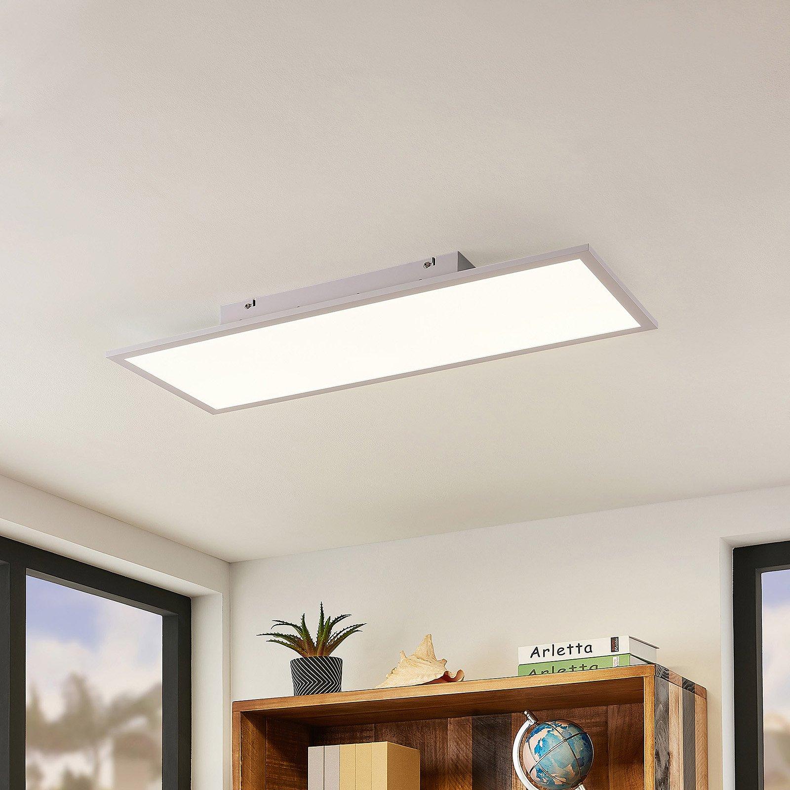 Lindby Luay LED-panel, 3 000-6 000 K, 30 x 80 cm