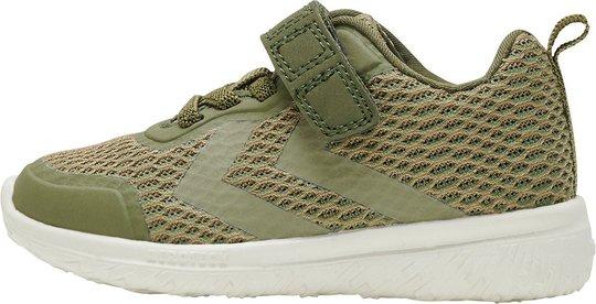 Hummel Actus ML Jr Sneaker, Deep Lichen Green, 32