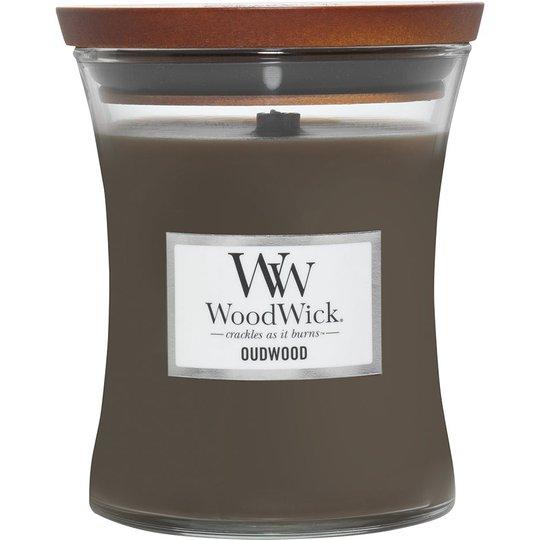 Oudwood, WoodWick Tuoksukynttilät