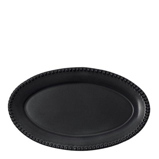 PotteryJo - Daria Fat Oval 35 cm Ink Black