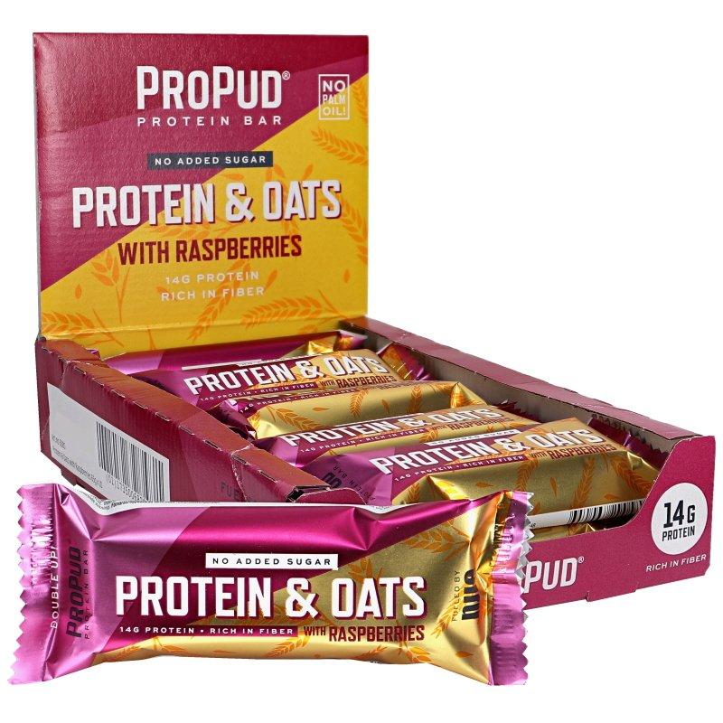 Proteiinipatukat Oats & Raspberries 10kpl - 35% alennus