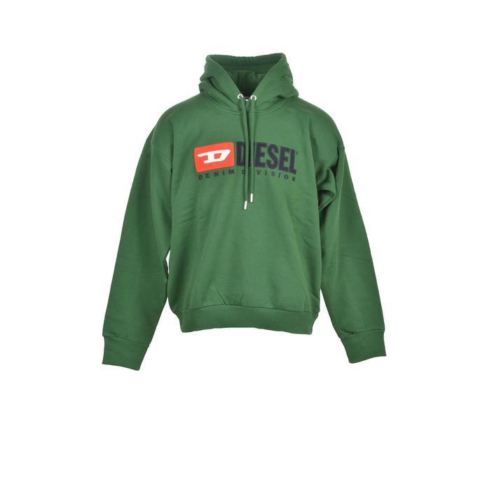 Diesel Men's Sweatshirt Green 210752 - green L