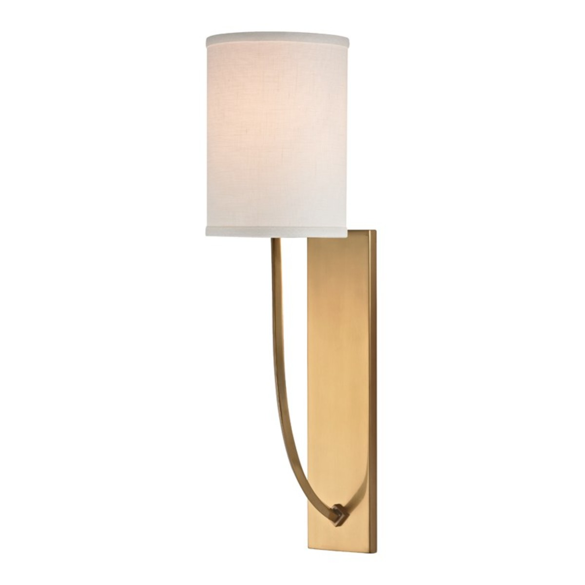 Hudson Valley | Colton Wall Light | Aged Brass
