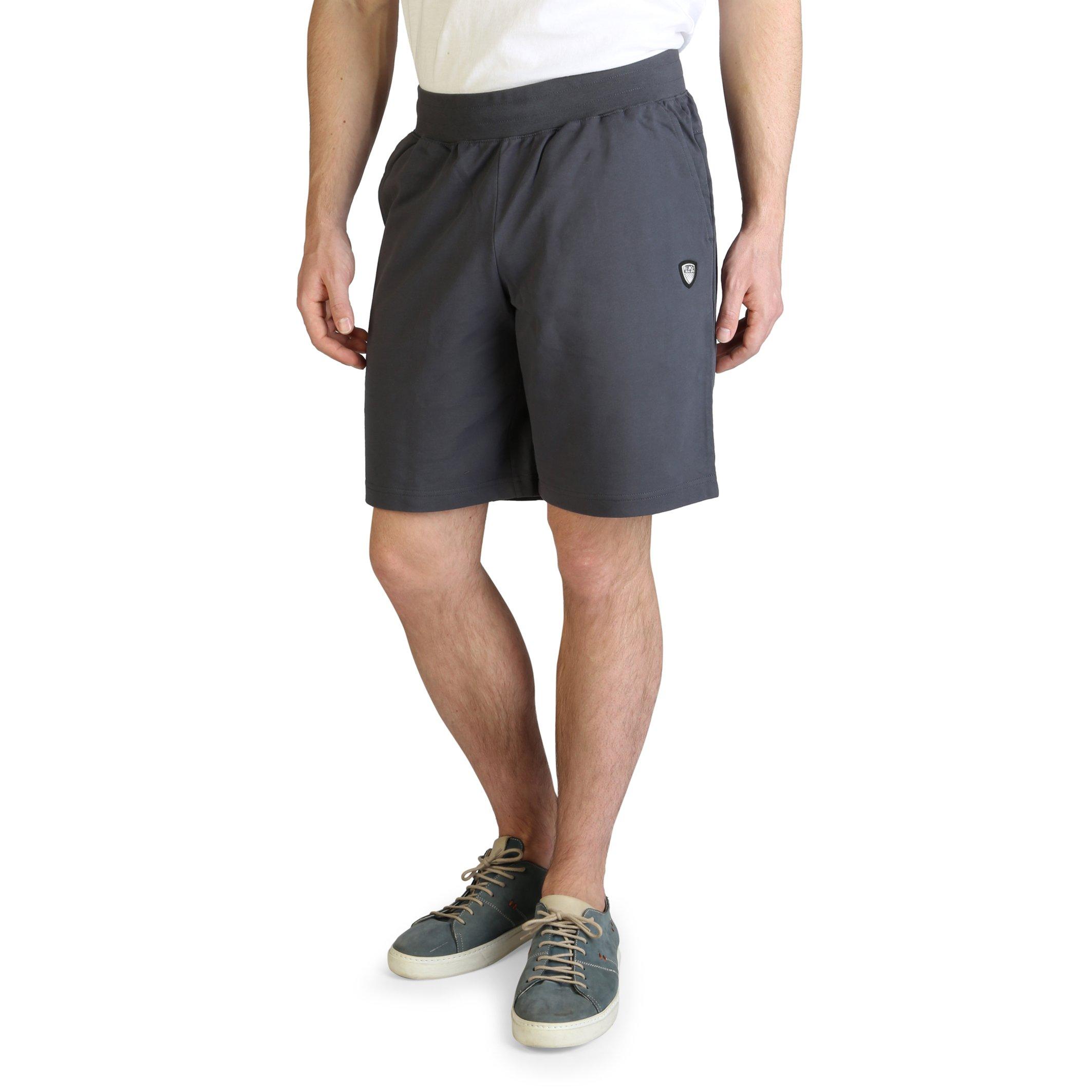 EA7 Men's Short Various Colours 8NPS55_PJ05Z - grey XS