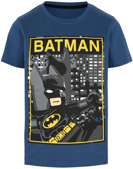 LEGO Collection T-shirt, Dark Dust Blue, 116