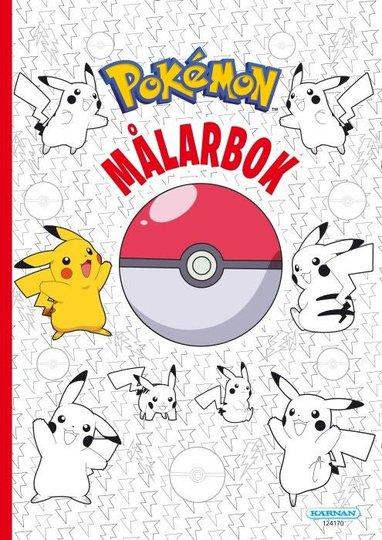 Kärnan Pokémon Fargeleggingsbok