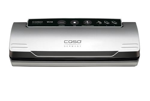 Caso 1340 Vc 10 Silver 110 Watt Vakuumföpackare - Svart/silver
