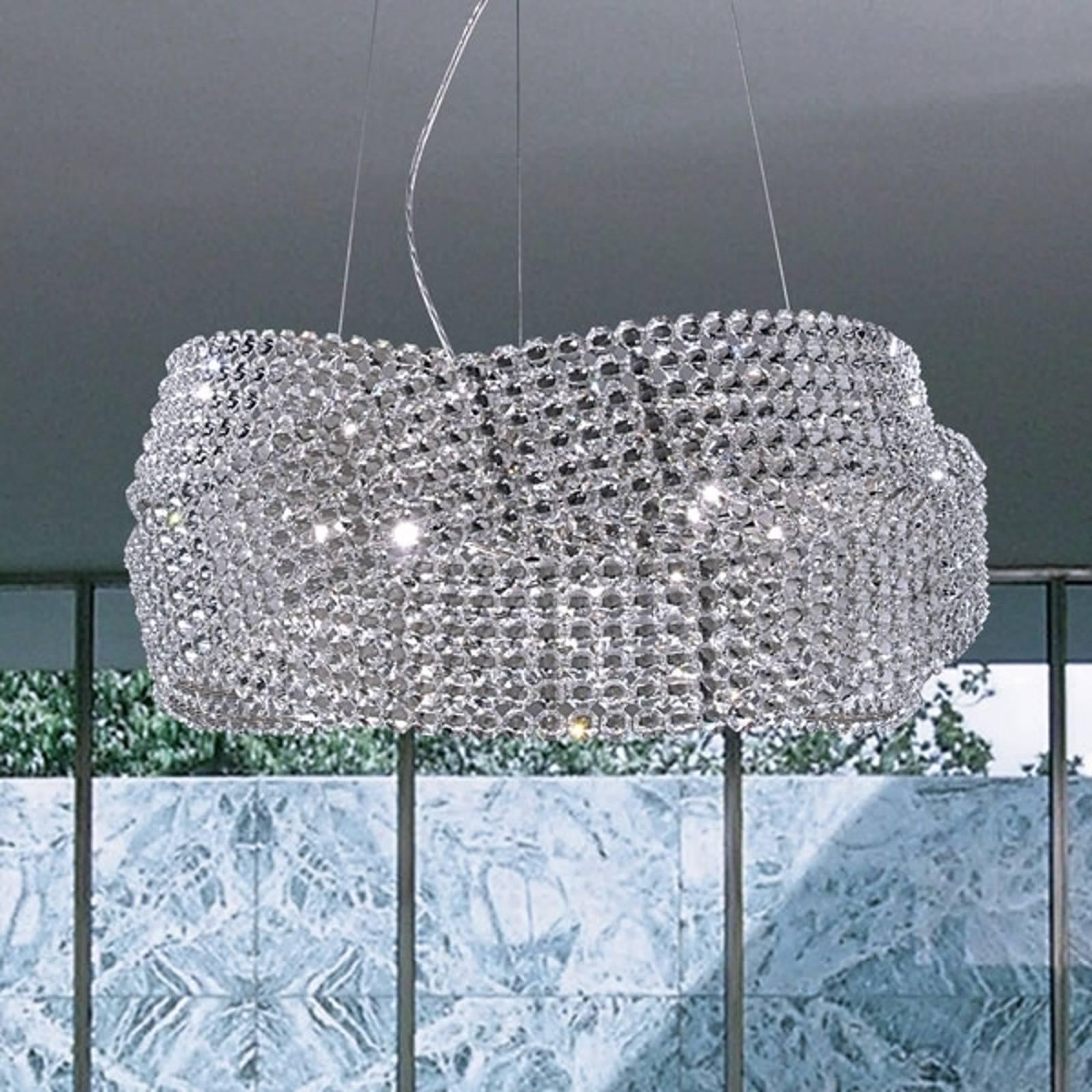 Kristalliriippuvalaisin Diamante Ø 95 cm