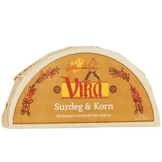 Knäckebröd Surdeg & Korn - 34% rabatt