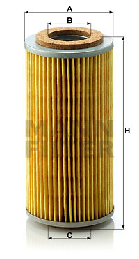 Öljynsuodatin MANN-FILTER H 804 x