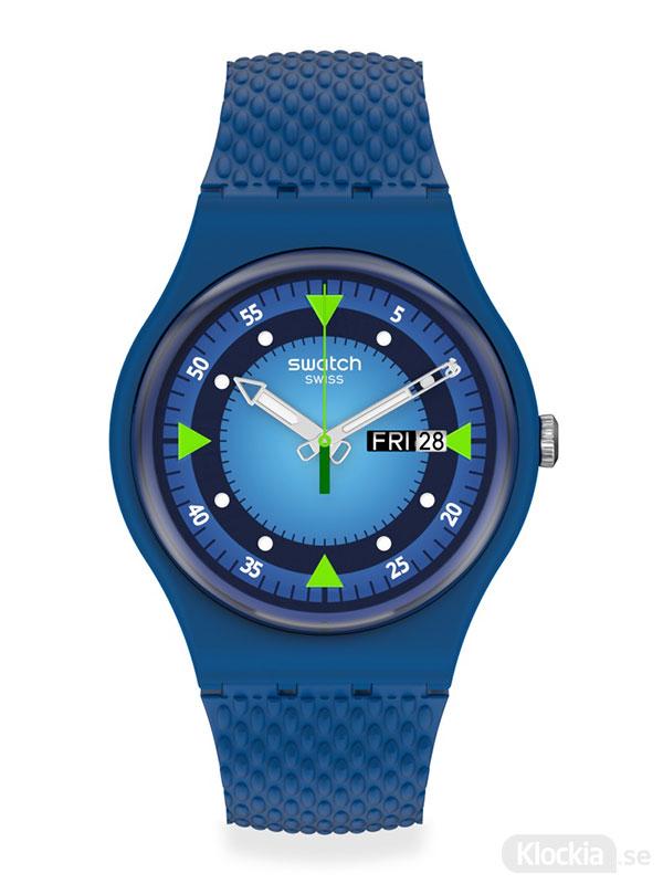 SWATCH Blue Blend SO29N701 Herrklocka