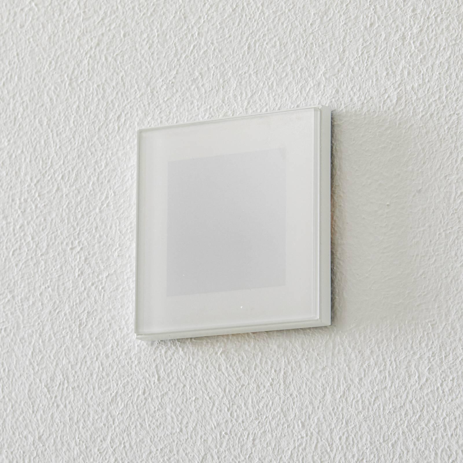 BEGA Accenta seinä kulmikas rengas valkoinen 160lm