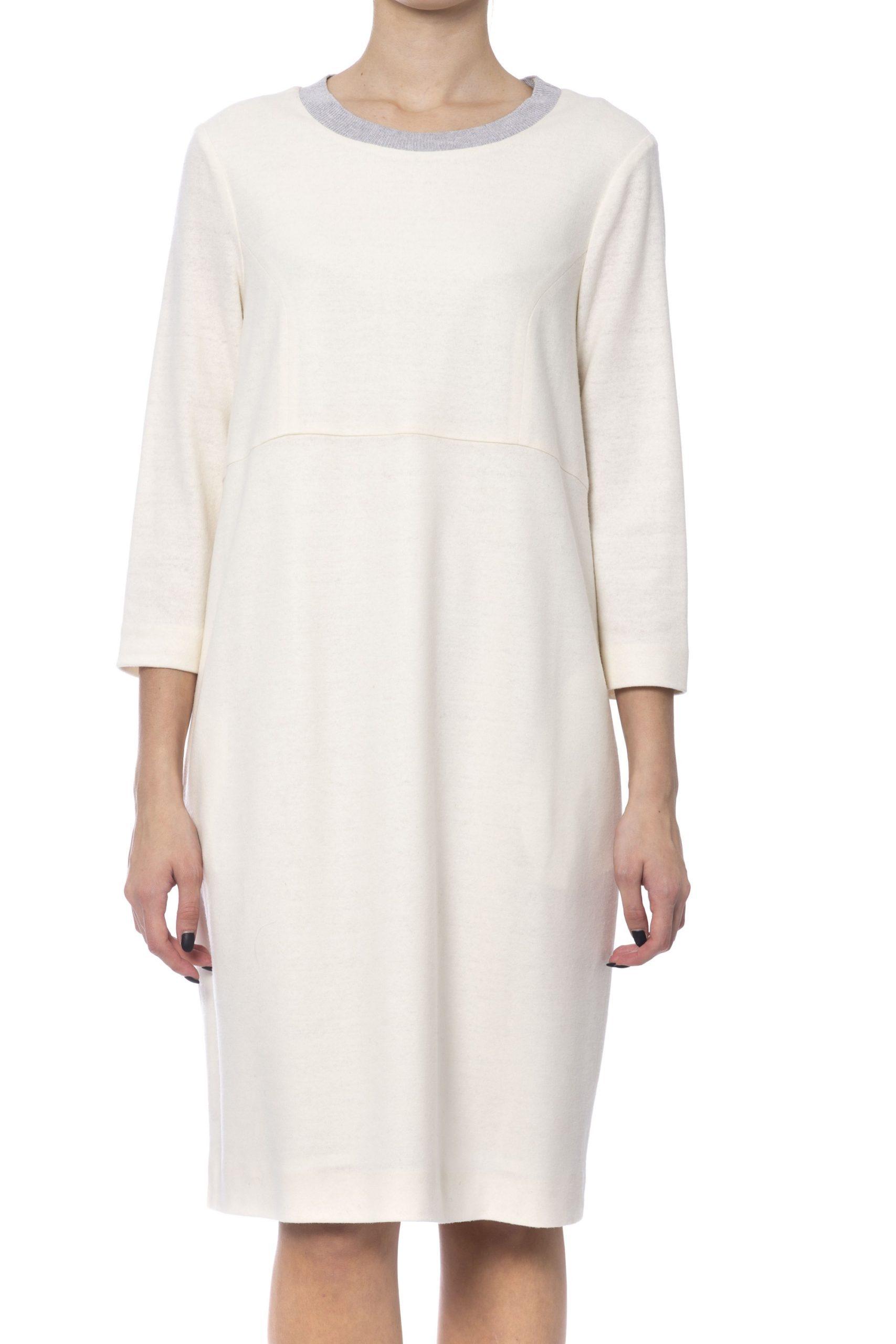 Peserico Women's Dress Beige PE993670 - IT42 | S