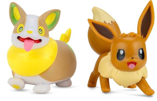 Pokémon Battle Figursett 2-Pack Eevee & Yamper
