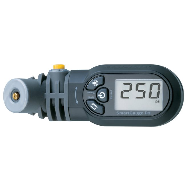 Topeak Smartgauge D2, Tryckmätare, Cykelpump