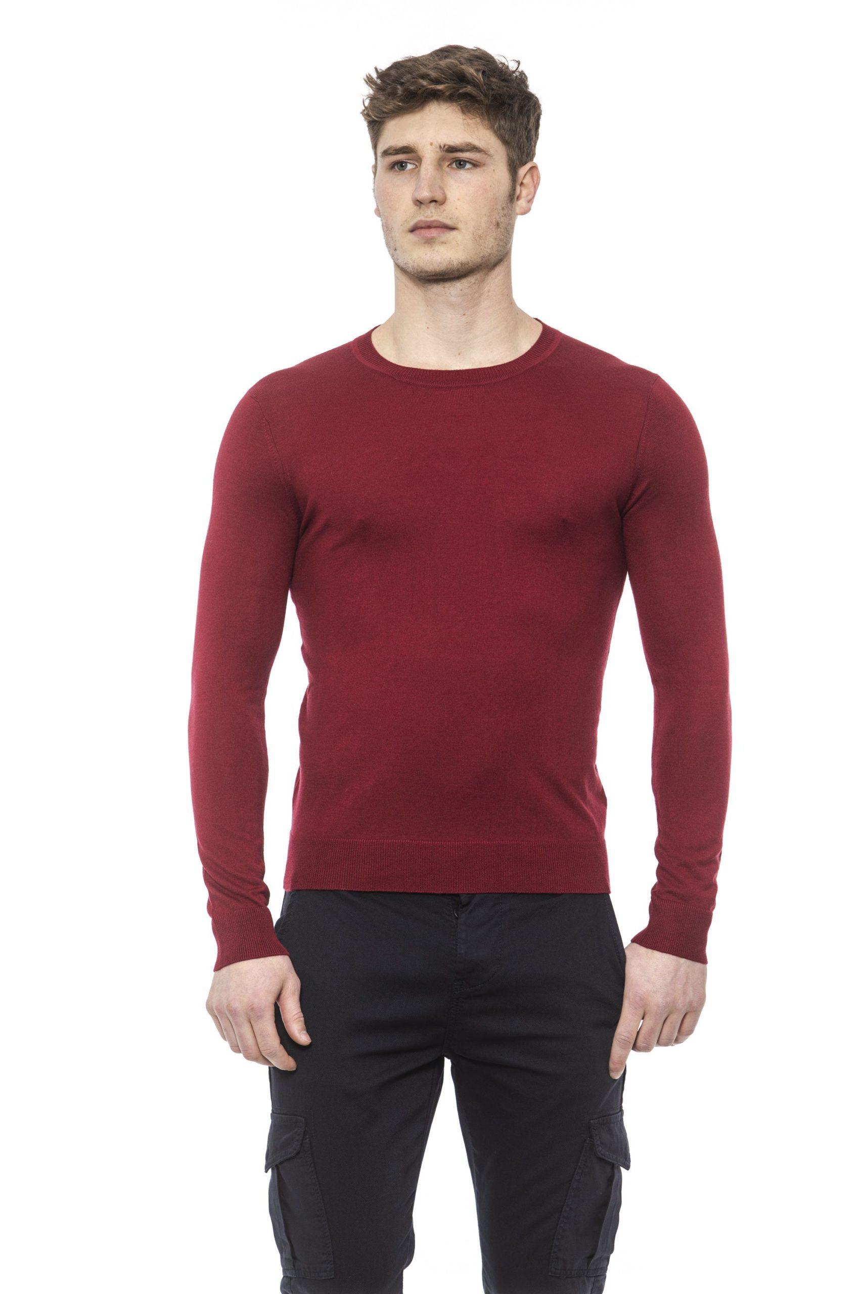 Alpha Studio Men's Rosso Sweater Red AL1374548 - IT48 | M