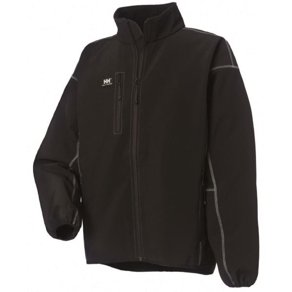 Helly Hansen Workwear Madrid Softshelljacka svart, polyester XS