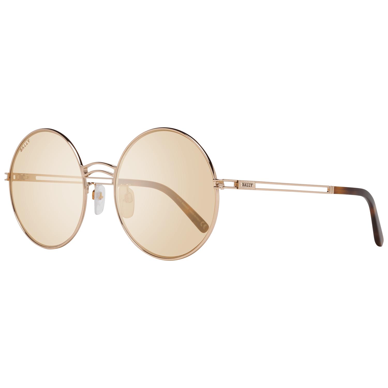 Bally Women's Sunglasses Rose Gold BY0001-D 5628E