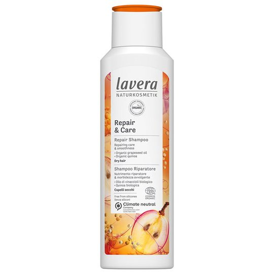 Lavera Repair & Care Shampoo, 250 ml