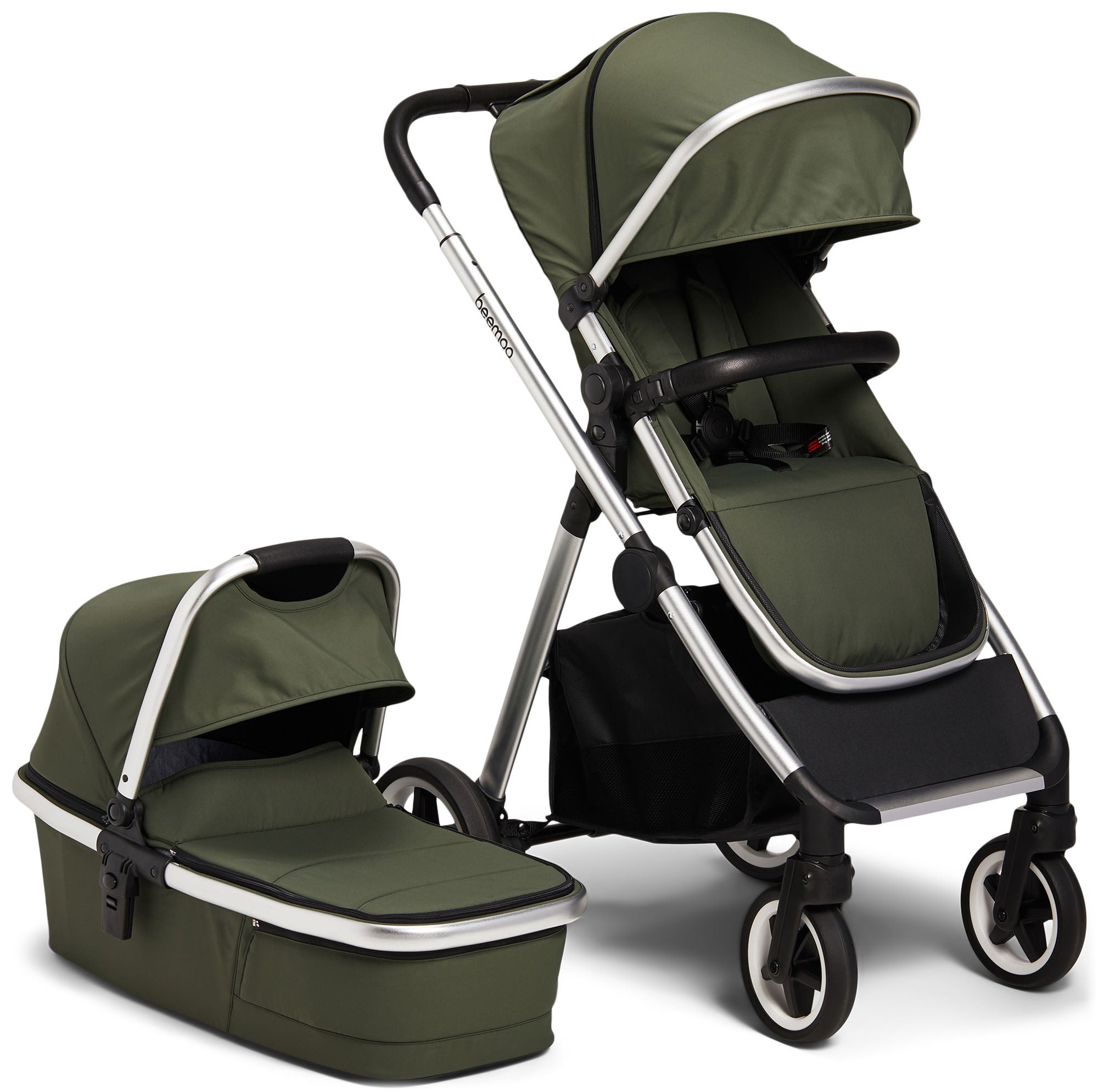 Beemoo Pro Duo Duovagn, Green