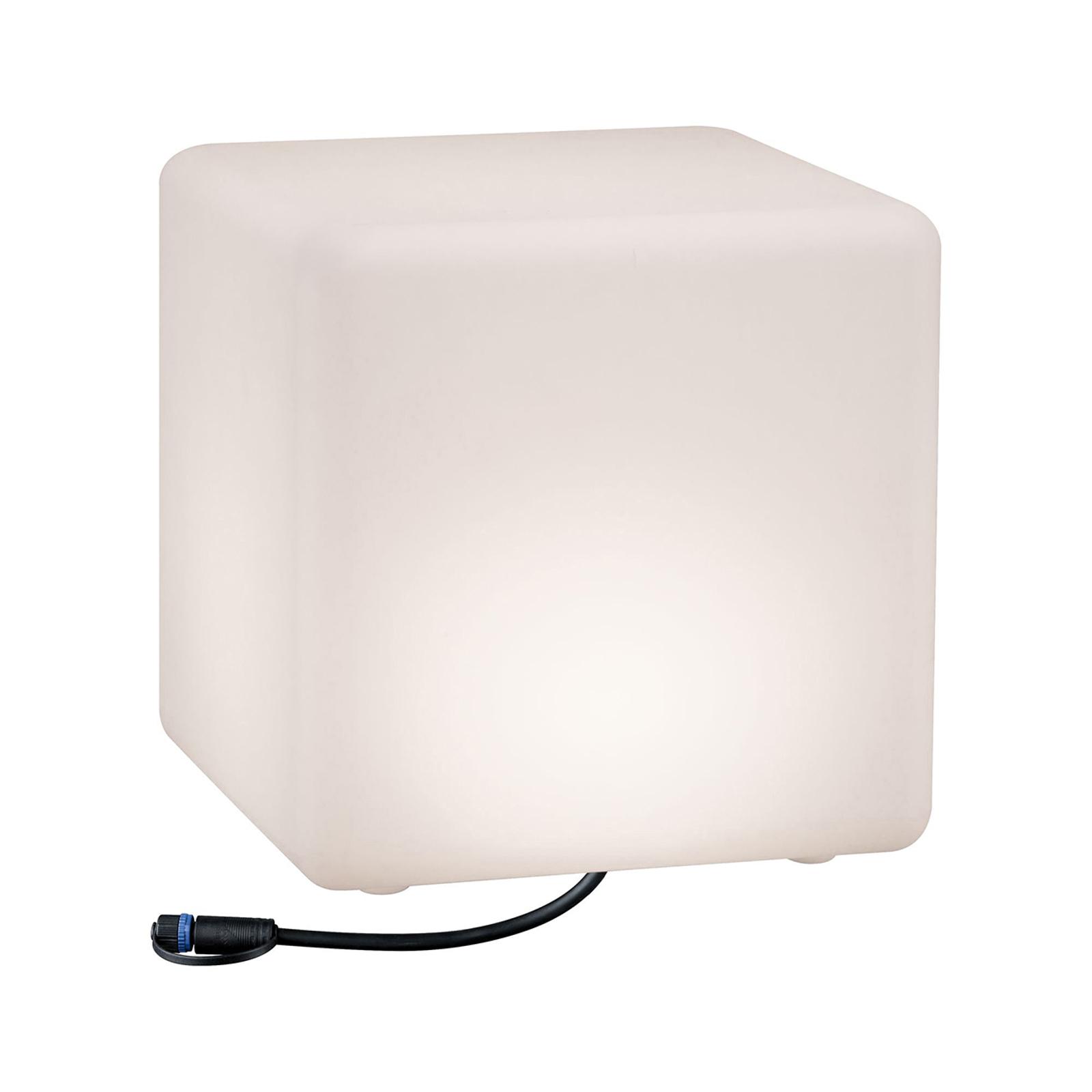 Paulmann Plug & Shine -LED-koristevalo Cube 30 cm
