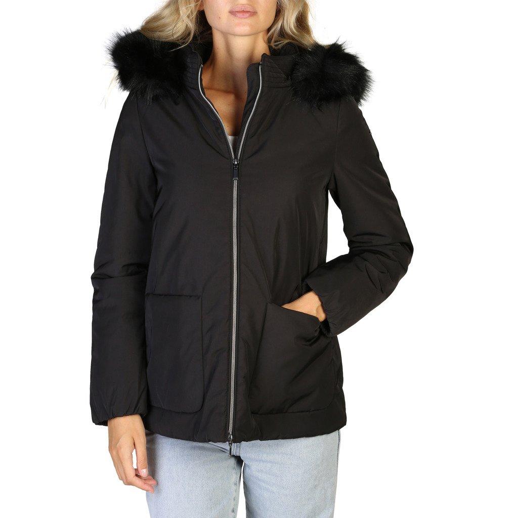 Geox Women's Jacket Black W9420GT2567 - black 50