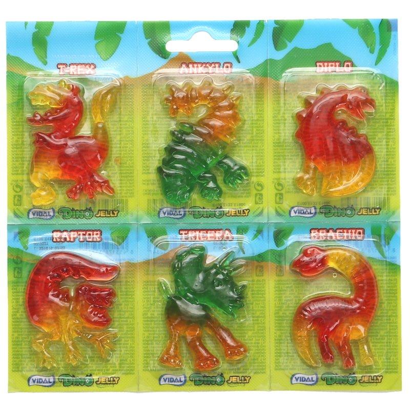 Godis Dino Jelly 6-pack - 33% rabatt